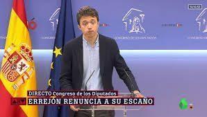 Errejón y Podemos: error tras error