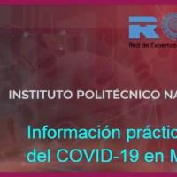 Crea IPN página web de orientación y apoyo sobre COVID-19