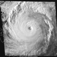 Tormenta en el Océano Pacífico se intensifica y se convierte en el primer súper tifón del año