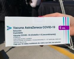 Cofepris libera 3 millones 608 mil 800 dosis de vacunas AstraZeneca envasadas en México