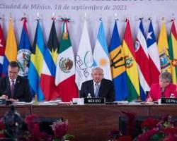 AMLO propone a la CELAC fortalecer relaciones e impulsar desarrollo regional con dimensión social