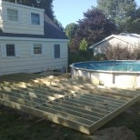 Framing for deck