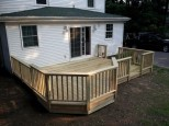 Deck with Octagonal Tier, South Portland, Maine