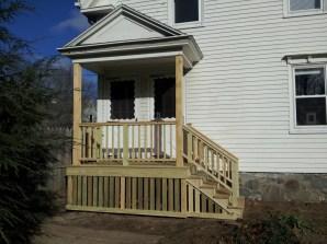 Front view of porch, Cape Elizabeth, Maine