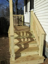 Pressure Treated Porch, Cape Elizabeth, Maine