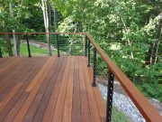 Ipe Deck in Falmouth, Maine