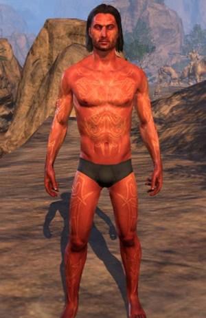 Deadlands Brand Human Skin