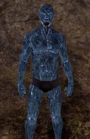 Frosthaunt Glister skin eso human