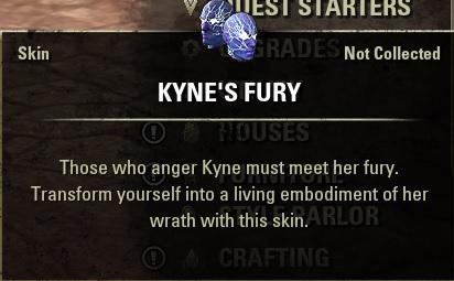 Kyne's Fury Skin ESO