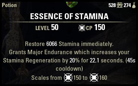 Essence of Stamina