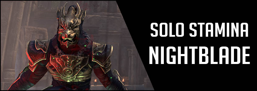 Solo Stamina Nightblade PvE Build Banner picture