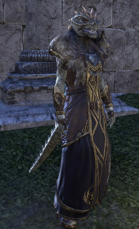 Werewolf Lord Female Argonian ESO