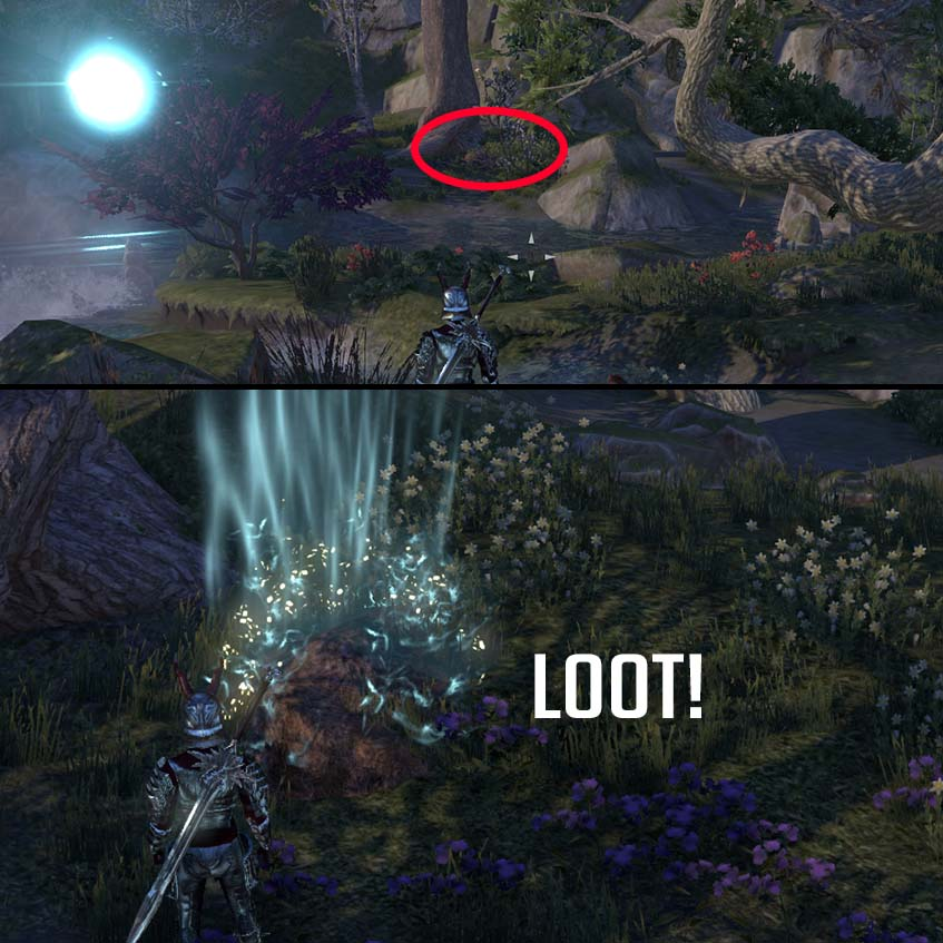 How to find dig hole Antiquities system ESO