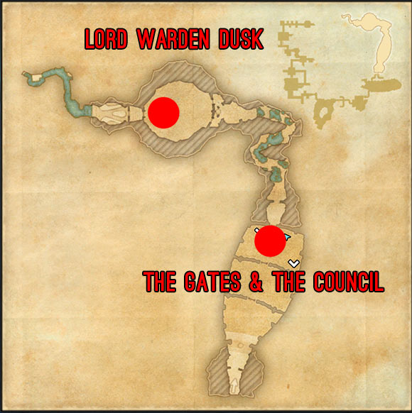 Imperial City Prison map 5 ESO Elder Scrolls Online Nara