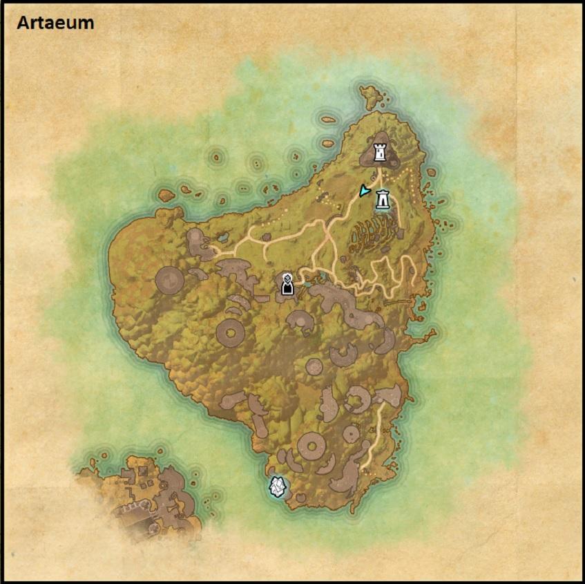 Artaeum Map ESO