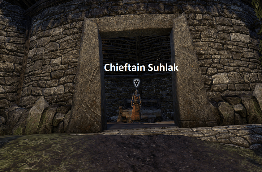 Skeleton Polymorph Quest Giver Chieftain Suhlak