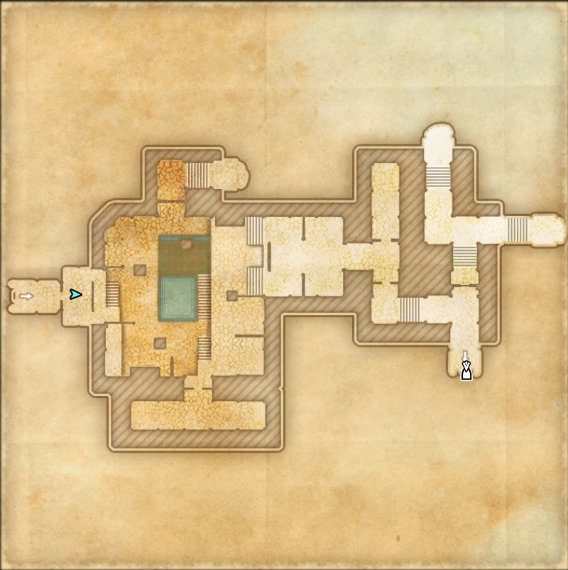 Castle Thorn Dungeon Map 3 ESO