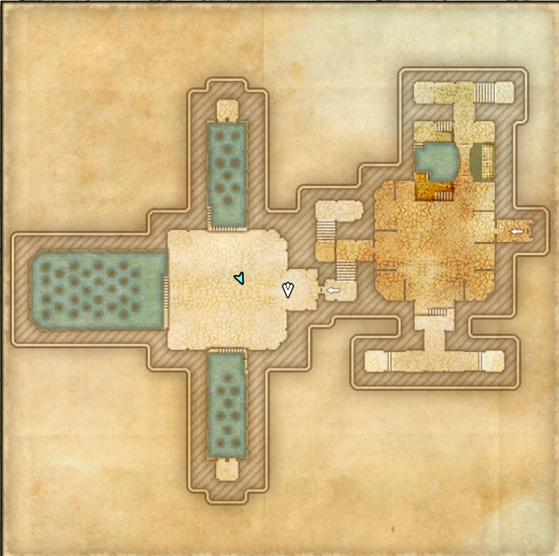 Castle Thorn Dungeon Map 4 ESO