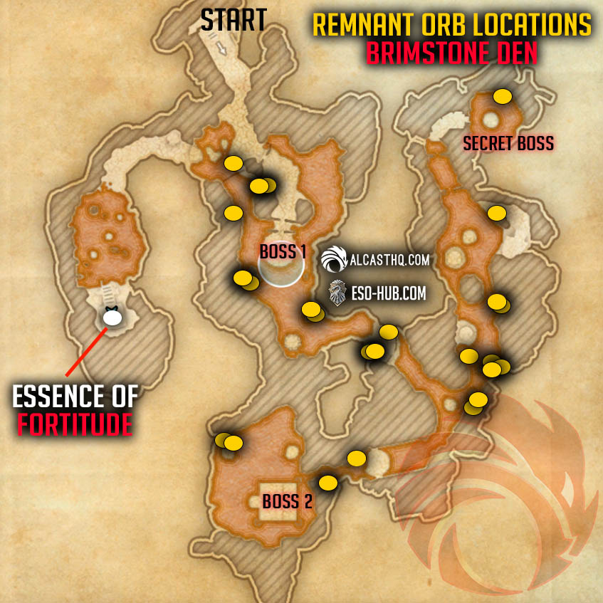 Red Zone Essence and Remnants Orb Locations Vateshran Hollows ESO2