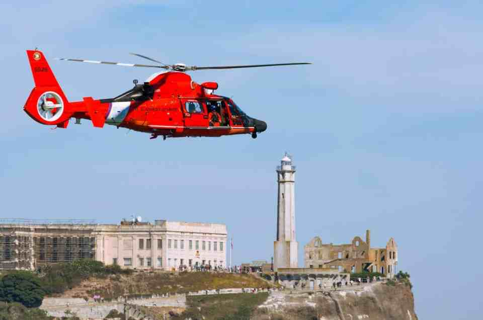 San Francisco Helicopter Tour and Alcatraz Tickets