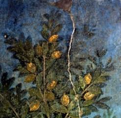 Detalle de fresco de la Casa del Frutteto, Pompeya, siglo I a.C