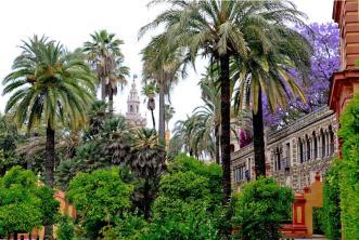 Jardines del Real Alcázar, Sevilla