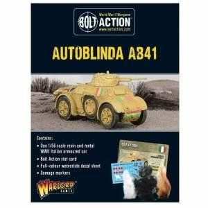 Autoblinda AB41 Armoured Car