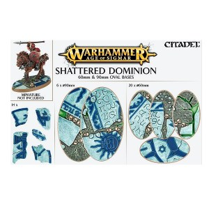 Shattered Dominion 60 & 90mm Oval Bases
