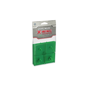 Star Wars X-Wing Green Bases and Pegs