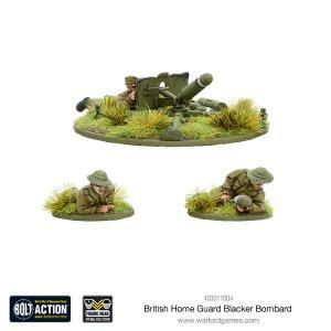 British Blacker Bombard (Spigot Mortar)