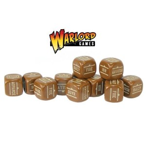 Brown Order Dice pack