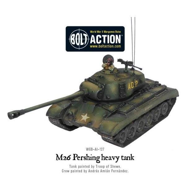 M26 Pershing heavy tank