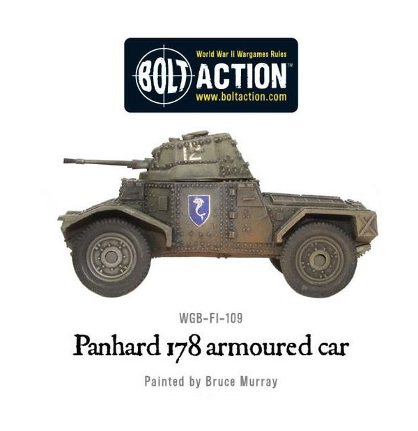 Panhard 178 Armoured Car