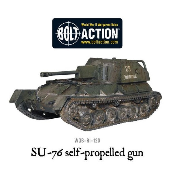 Soviet SU-76 Self-Propelled Gun