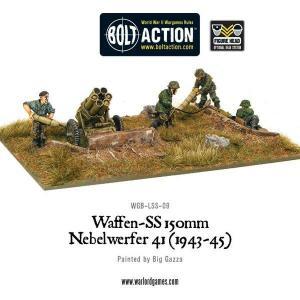 Waffen-SS 150mm Nebelwerfer 41 (1943-45)