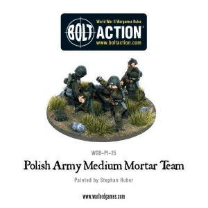 Polish Army Medium Mortar Team