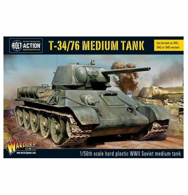 T34 / 76 medium tank (plastic)