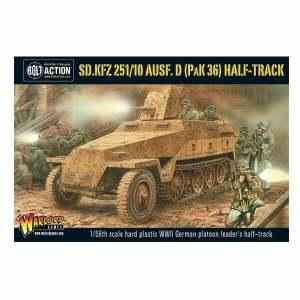 Sd.Kfz 251/10 ausf D (37mm Pak) Half Track