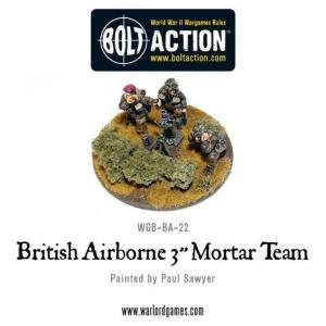 """British Airborne 3"""" Medium Mortar Team"""