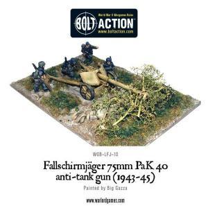 Fallschirmjager 75mm PaK 40 Anti-Tank Gun (1943-45)