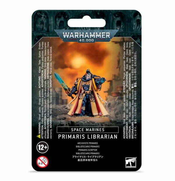 Space Marine Primaris Librarian