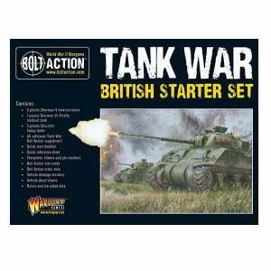 Tank War: British starter set