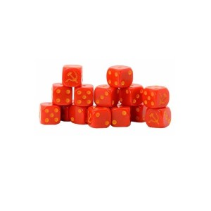 Soviet Union D6 Dice Pack