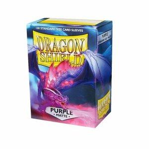 Dragon Shield Sleeves Matte Purple 100