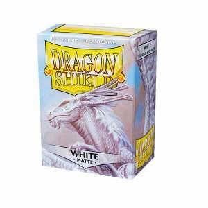 Dragon Shield Sleeves Matte White 100