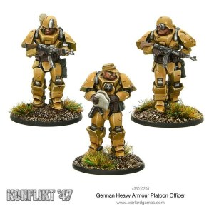 German Heavy Armour Platoon Officer