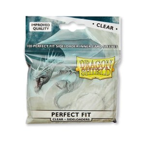 Dragon Shield Perfect Fit Clear Sideloaders 100