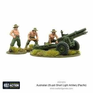 Australian short 25-pdr (Pacific)