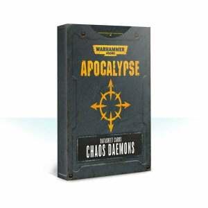 Apocalypse Datasheet Cards: Chaos Daemons