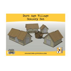Dark Age Village Scenery Set